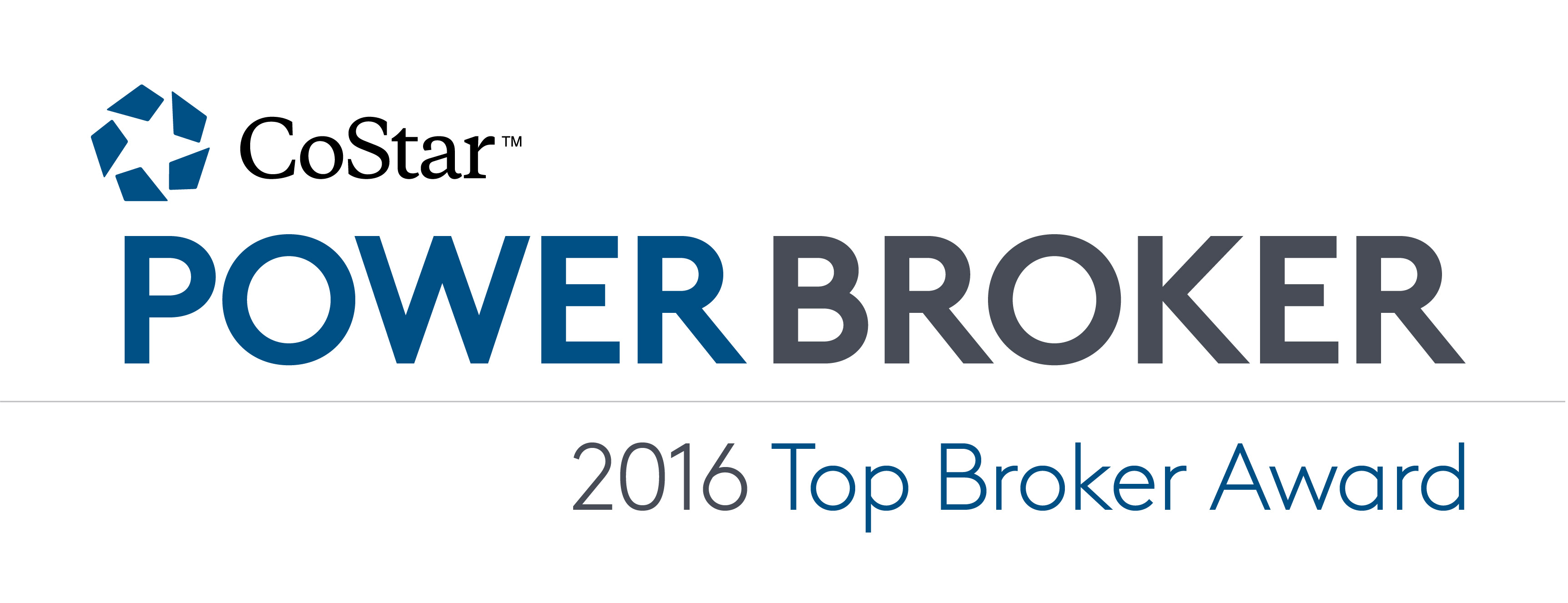 GOODMAN REAL ESTATE SERVICES GROUPS' BROKERS RECEIVE 2016 COSTAR POWER BROKER AWARD