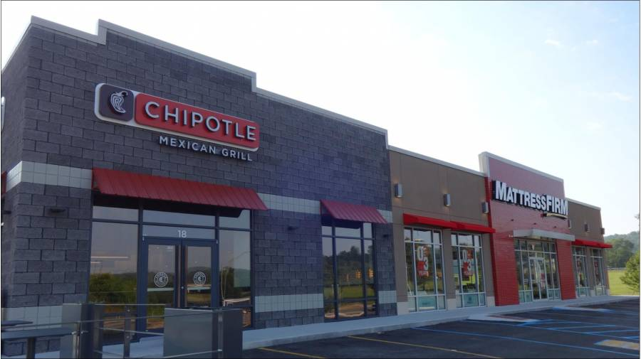 chipotle and mattress firm goodman real estate services group. Black Bedroom Furniture Sets. Home Design Ideas