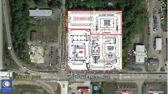 New retail development goodman real estate services group llc for Parks garden center canfield ohio